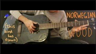 Norwegian Wood - The Beatles - Fingerstyle Guitar Cover