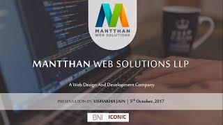 Mantthan Web Solutions LLP - Video - 1