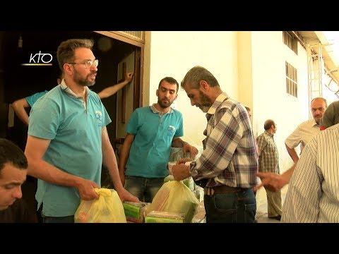 Les Maristes bleus au secours de la population d'Alep