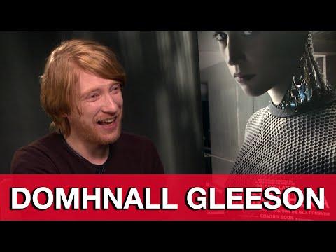 Domhnall Gleeson Interview - Ex Machina | MTW