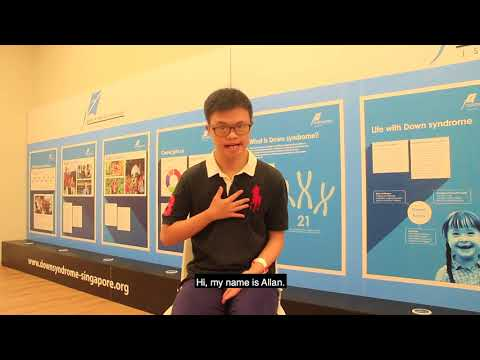 Veure vídeo #WDSD 18 - Down Syndrome Association Singapore, Singapore - #WhatIBringToMyCommunity