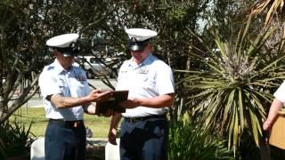 Wayne Gangstad's Coast Guard Retirement Ceremony