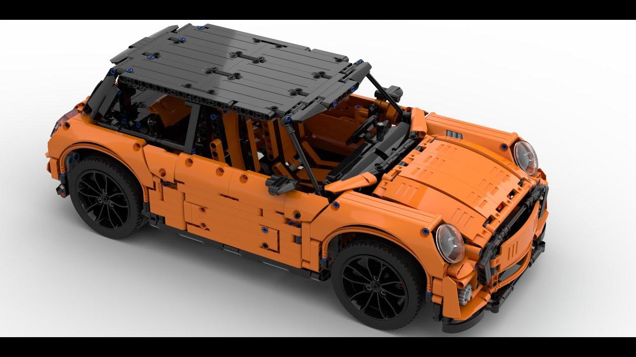 Lego Technic 42056 B Model MINI F56