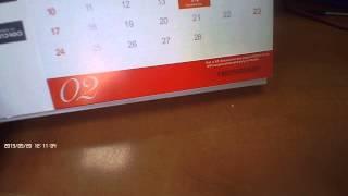DX 2013 Desk Calendar with 12 Months' Coupon Codes