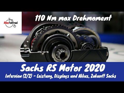 Sachs RS Motor E-Bike 2020 - maximale Leistung, Trittfrequenz, Zukunft -Teil 2/2 | Alles Fahrrad