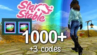 Star stable codes youtube | Starstable codes for 500 star