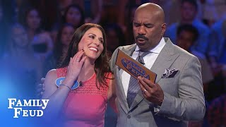 INCREDIBLE Fast Money! | Family Feud - dooclip.me