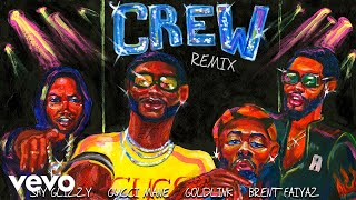 GoldLink   Crew REMIX (Audio) Ft. Gucci Mane, Brent Faiyaz, Shy Glizzy