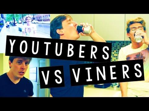 YOUTUBERS vs VINERS (w/ Thomas Sanders)