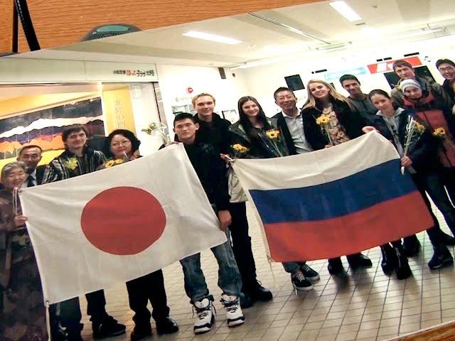 Ангарские школьники побывали в Японии