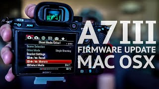 sony a7iii firmware update mac not working - TH-Clip