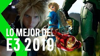 Lo MEJOR del E3 2019 en MENOS de 10 MINUTOS: FFVIIR, HALO INFINITE, TLOZ BREATH OF THE WILD 2 y más