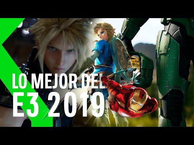 Lo MEJOR del E3 2019 en MENOS de 10 MINUTOS: FFVIIR, HALO INFINITE, TLOZ BREATH OF THE WILD 2 y más