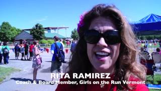 preview picture of video 'Girls on the Run Vermont, 5K 2012'