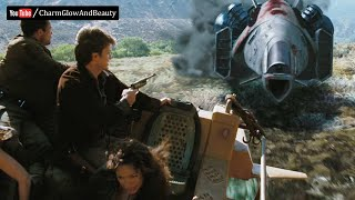 Bank Robbery | Escape From The Cannibals Reavers - Serenity (2005) Film Scene