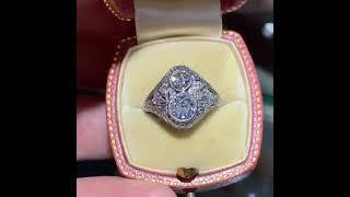Art Deco Antique Engagement Rings
