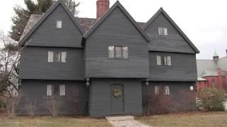 Take A Tour-Salem Witch House. 1600's Era House Of Jonathan Corwin.
