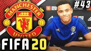 GREENWOOD SIGNS MEGA CONTRACT!! 🤑 - FIFA 20 Manchester United Career Mode EP43