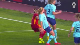 Algarve Cup 2019: Espanha 2 - 0 Holanda (Grupo B, Dia 1)