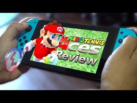 Mario Tennis Aces Review video thumbnail