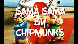 Sama sama (lyrics) by Chipmunks
