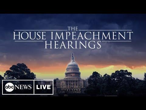 Impeachment Hearings Day 4: Ambassador Gordon Sonland, Laura Cooper and David Hale full testimony