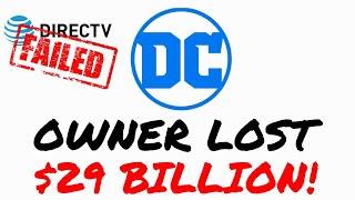 DC Comics Owner To Lose $29 Billion On Sale OF DirecTV