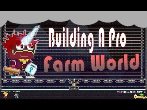 Growtopia I Making FARM world For FRIENDS!! - смотреть онлайн на Hah