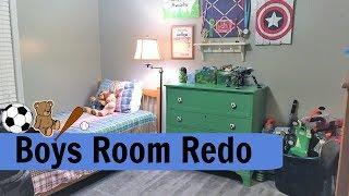 BOY'S BEDROOM RE-DO