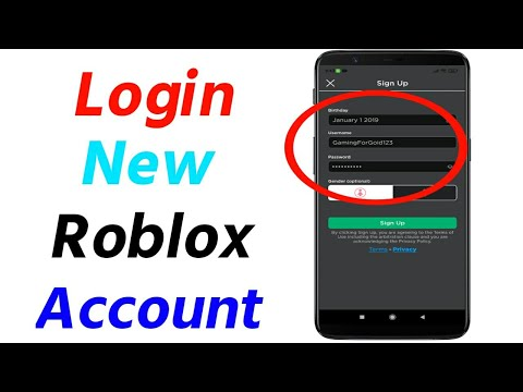 How to Log in to Roblox in Mobile | Login New Roblox Account