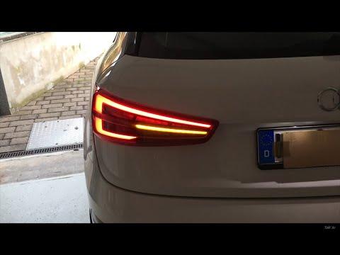 Audi Q3 Reparatur der Rückleuchte & Audi Q3 Facelift dynamischer Blinker | Tobi3c