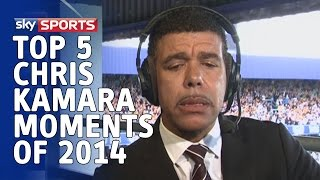 Top 5   Unbelievable Chris Kamara Moments of 2014