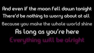 If The Moon Fell Down - Chase Coy (lyrics on-screen)