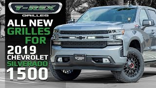 T-Rex Grilles: 11 High-Tech Grilles Available for Redesigned Chevrolet Silverado 1500