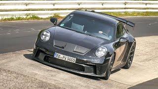 2021 Porsche 992 GT3 & GT3 Touring pushing HARD on the Nürburgring Nordschleife!