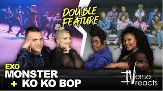 RIVerse Reacts: Monster & Ko Ko Bop  By EXO (DOUBLE FEATURE)
