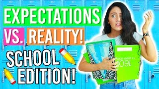 Back To School 2016: Expectations Vs Reality! (First Day of School Expectations!)
