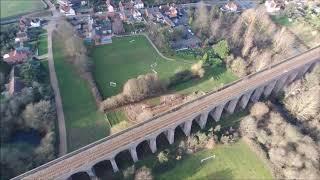PARROT BEBOP 2 POWER 2019 FLIGHT FOOTAGE ESSEX VIADUCT UK
