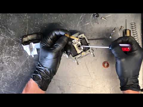 How to inspect and fix sticking choke plungers on carburetors