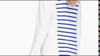 Panel Stripe Quarter Zip-video