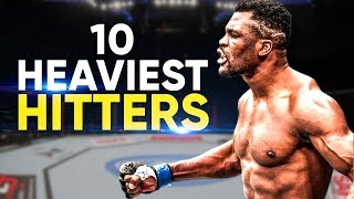 10 Heaviest Hitters In The UFC   2019