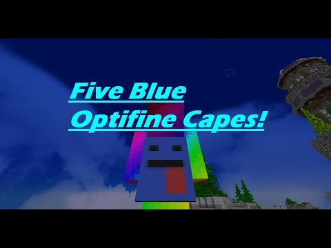 5 Blue Optifine Cape Designs! - Themed Optifine Capes