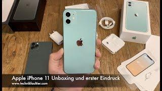 Apple iPhone 11 Unboxing und erster Eindruck