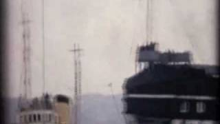 HMS Unicorn Dock Transfer 1962