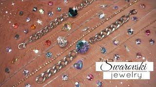 Diy Swarovski Jewelry   Easy & Cheap