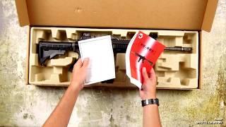 Unboxing -replica A.W.S.S. Wei Tech-4168 GBB TYPE with open bolt system [Wei Tech]