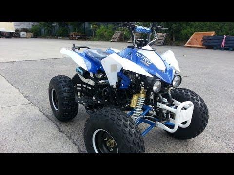 125ccm Semi-Automatic Quad ATV Panthera 3G8RS - Video