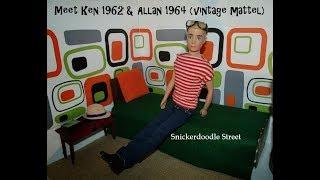 Meet Ken 1962 & Allan 1964 (vintage mattel)