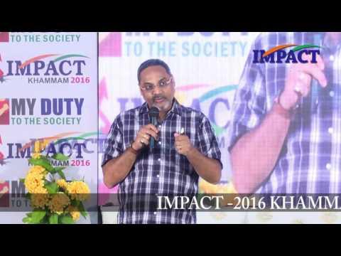 Vision|Vivek Varma|TELUGU IMPACT Khammam 2016