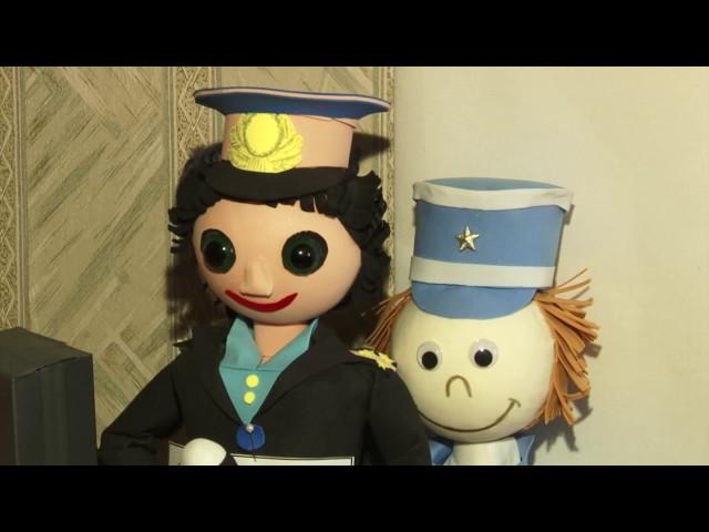 Ангарчане делают игрушечных полицейских
